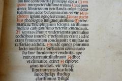 Euclidis Megarensis philosophi acutissimi mathematicorumq[ue] omnium sine controuersia principis op[er]a Euclid; ed. by Campano da Novara Venice: Paganino Paganini, 1509 [DeM] L.6 [Euclid – Elementa – Latin] fol. SSR